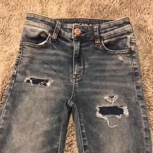 American Eagle high-rise jegging jeans size 0